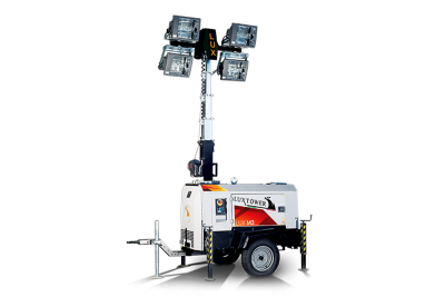Luxtower mobile lighting, light towers for civil and industrial construction, oil and gas and events